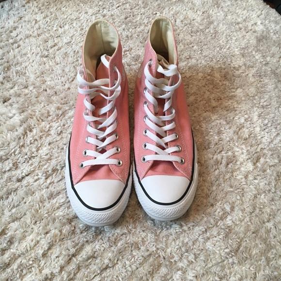 3cdb42c6c8e ... best womens size 9 light pink high top converse f2251 0f356